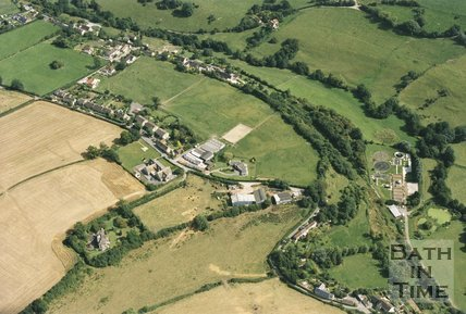 Shoscombe, Somerset, Aerial View, 1993
