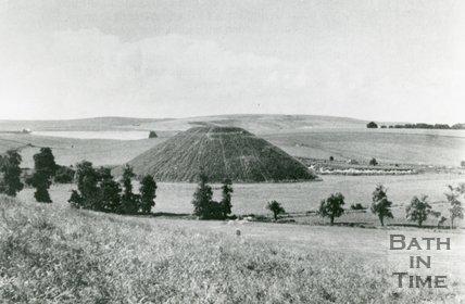 Silbury Hill, Wiltshire, 1972