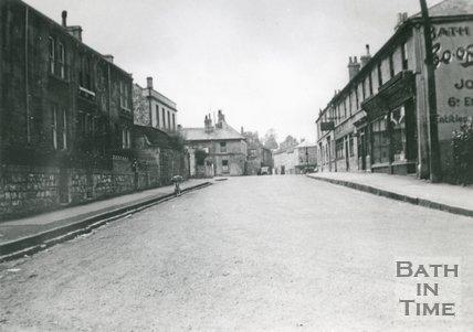 High Street, Twerton, Bath, c.1936