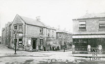 High Street and Mill Lane, Twerton, Bath, c.1910