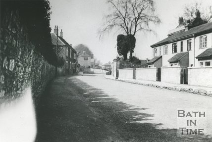 High Street and How Hill, Twerton, Bath, c.1936