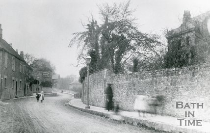 High Street, How Hill, and Clyde House, Twerton, Bath, 1907