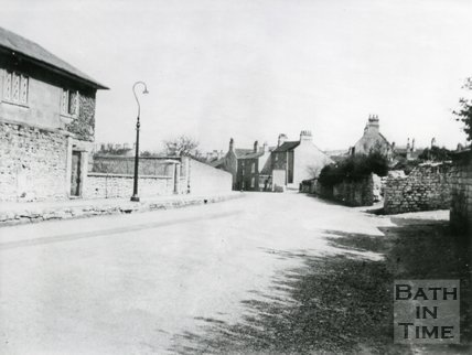 High Street, and Rose Cottage, Twerton, Bath, c.1936