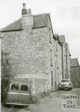 Twerton Poor House, Side View, Twerton, Bath, 1968