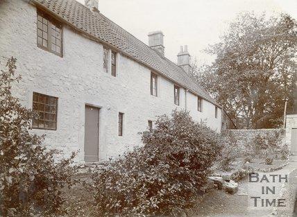 Terraced Houses on How Hill, Twerton, Bath, c.1880