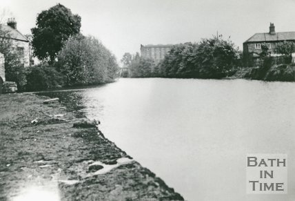 River and Cabinet Works, Twerton, Bath, 1938