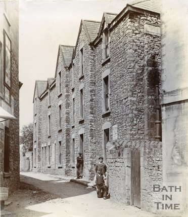 Twerton Poor House, Converted Into Residences, Twerton, Bath, 1904