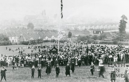 Opening Of Innox Park, Twerton, Bath, 1909