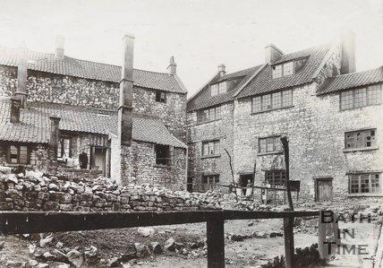 Cabbage Square, Twerton, Bath, c.1904