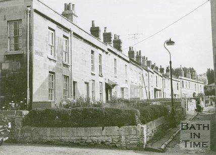 Prospect Buildings, Twerton, Bath, 1968