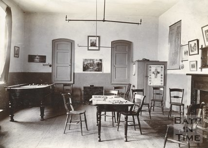 Church Room Interior, Twerton, Bath, c.1900