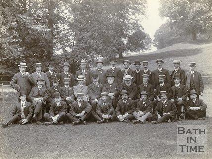 Twerton Flower Show Committee, Twerton, Bath, c.1910?