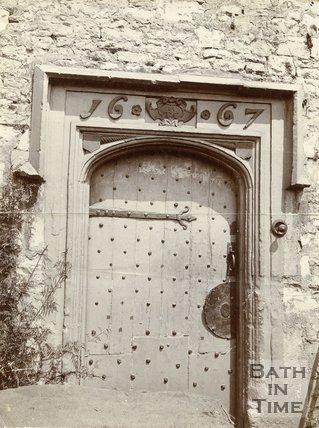 Logwood House Doorway, Twerton, Bath, c.1910s?