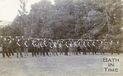 GH Lads' Brigade, Minehead, 1898