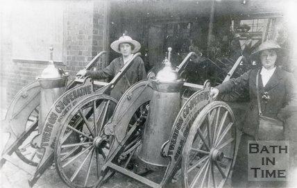 Twerton Co-operative Dairy, Twerton, Bath, c.1914-1918