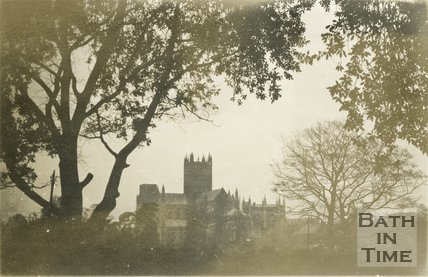 Wells Cathedral, 1945