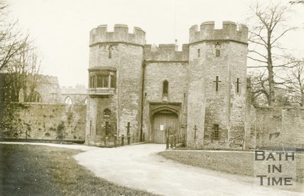 Wells, Gateway To Bishop's Palace, 1945