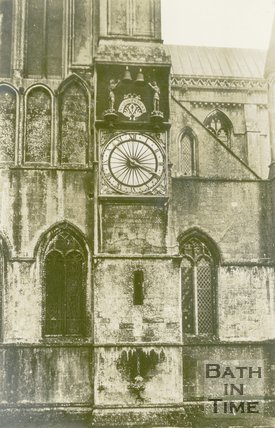 Wells Cathedral Clock (Exterior), 1945