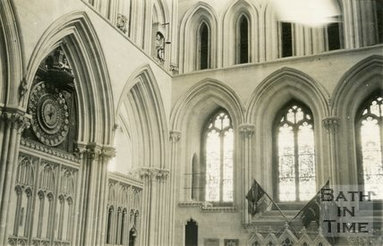 Wells Cathedral Clock (Interior Landscape), 1945