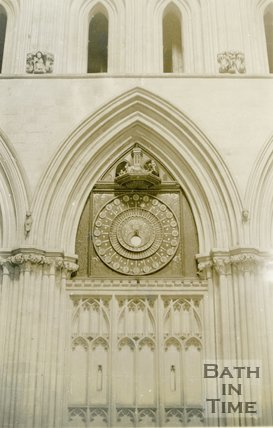 Wells Cathedral Clock (Interior Portrait), 1945
