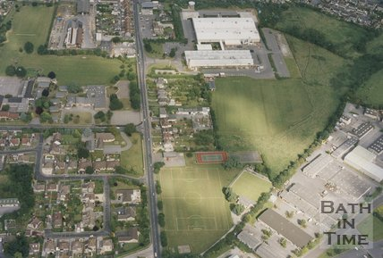 Westfield, Radstock, Aerial View, 1993