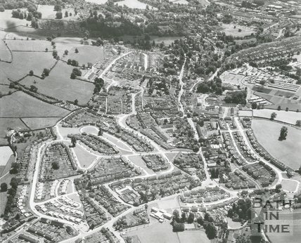 Weston, Bath, Aerial View, 1965
