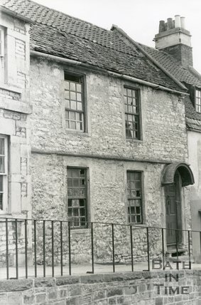 Said to be the oldest House In Weston, Trafalgar Road, Weston, Bath, c.1960s