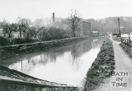 The Cut on the Avon Navigation, Weston, Bath, c.1935