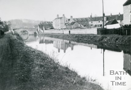 The Cut on the Avon Navigation, Weston, Bath, c.1936