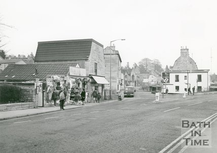 Village Market Store, Weston, Bath, 1972