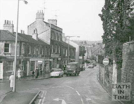 High Street, Weston, Bath, 1972