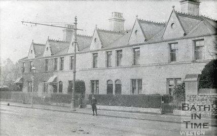 Augusta Place, Weston, Bath, c.1905