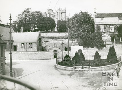 Crown Hill and High Street, Weston, Bath, c.1920s?