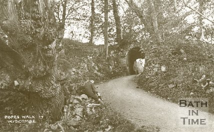 Pope's Walk, Widcombe, Bath, 1920s