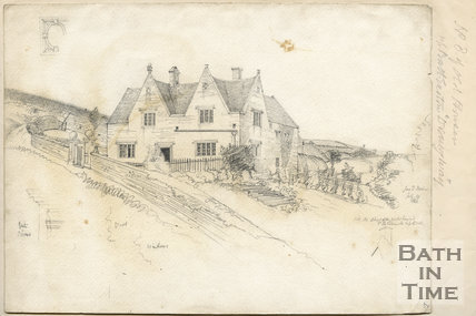 The Grey House, St Catherines, Batheaston, Bath, July 14 1866