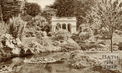 The Botanical Gardens, Bath, c.1940s
