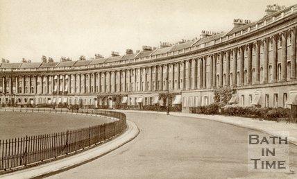 The Royal Crescent, Bath, c.1940s