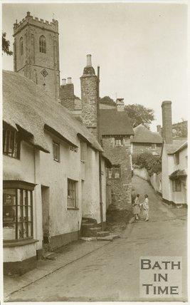 Church Steps, Minehead, Somerset, c.1920s