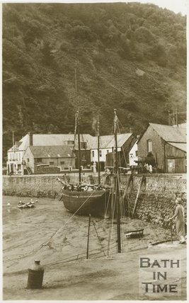 The Quayside, Minehead, Somerset, c.1910