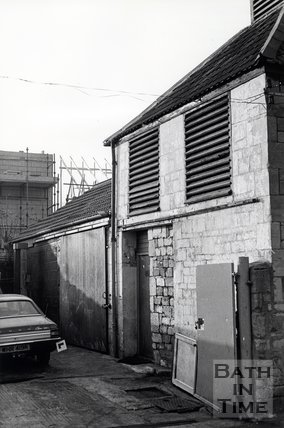 Old Slaughterhouse, Weymouth Street, Bath, November 1983