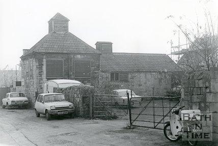 Old Slaughterhouse, Weymouth Street, Bath, November 1983