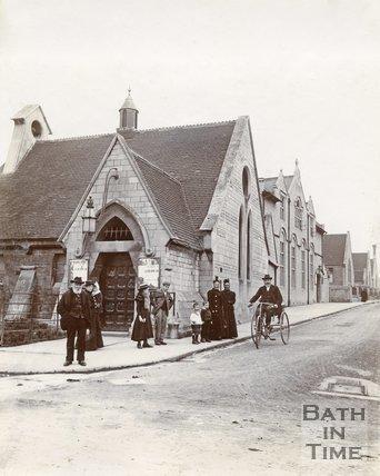 St Peters gymnasium, Twerton, Bath, 1888