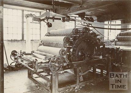 Carding Machine, Carr's Mills, Twerton, Bath, c.1890s