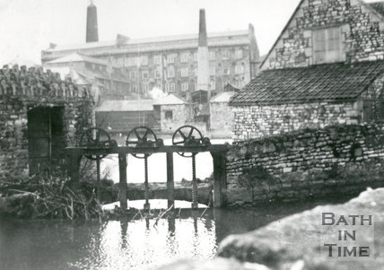 Carr's Factory, Twerton, Bath, c.1936
