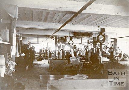 Cook's Factory, Twerton, Bath, c.1890s