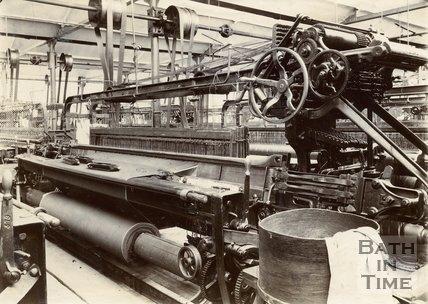 Carr's Factory, Twerton, Bath, c.1890s