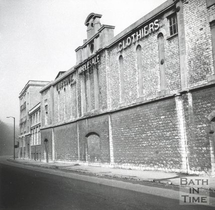 Cook's factory, Twerton, Bath, 7th March 1965