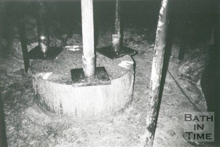 Inside Combe Down Stone Mines, Bath, pre 1992