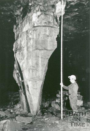 Combe Down Stone Mine, Bath, 1992