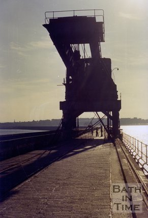Stothert and Pitt Titan Crane at South Shields, 1975